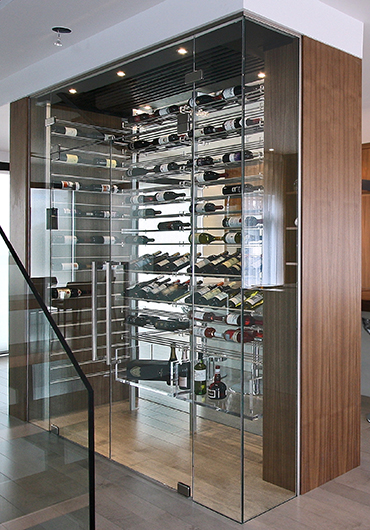 Wine rack gallery